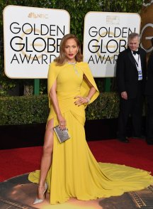 Jennifer Lopez in Giambattista Vallie Haute Couture