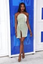 Naomi Campbell in Brandon Maxwell