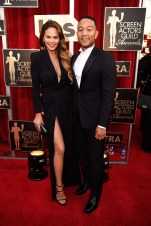 Chrissy Teigen, pictured with John Legend.
