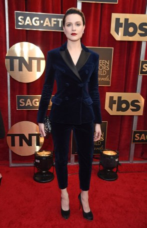 Evan Rachel Wood in Altuzarra